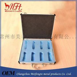 铝合金精密度仪器箱 铝合金箱仪器箱医疗箱生产厂家 内衬EVA