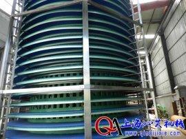沁艾机械厂家直销链板螺旋输送线,塑料链板螺旋输送机,柔性链板螺旋输送机