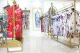 馬如龍 17夏裝品牌專櫃  旗袍 蘇州女裝折扣庫存尾貨批發走份