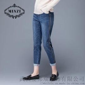 服装进货有哪些地方娅莉达铅笔九分裤【齐色齐码】
