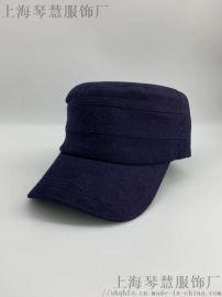 军帽平顶帽上海源头实体工厂