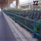 锌钢草坪防护栏,公路边缘锌钢围栏,草地锌钢护栏