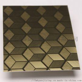 不锈钢装饰板工艺组合定制 不锈钢彩色板图片