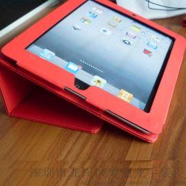 2017新款红色平板电脑皮套(555)
