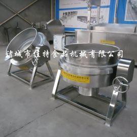 武汉电加热夹层锅 辣椒酱夹层锅