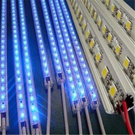 5050 5630深圳高亮led暖白 白光硬灯条铝条灯