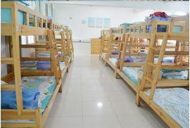 郑州成人双层床学生宿舍上下床简约实木双层床