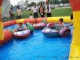 山西晋城儿童充气大水池手摇船经营