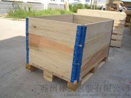 苏州包装箱厂家电话:13914067037免熏蒸木箱钢板箱出口包装箱