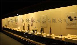 博物馆展柜、博物馆墙柜设计制作、展示柜尺寸可订制