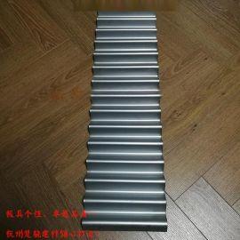 鋸齒形波紋板 錐形波浪板 鋁合金波紋板廠家