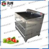 大型厨房食堂专用清洗蔬果青菜设备 单缸不锈钢洗菜机