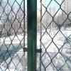 篮球场围网 勾花网围栏 铁丝网围栏