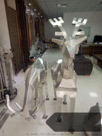 不锈钢雕塑纯手工锻造不锈钢雕塑   、玲珑有致