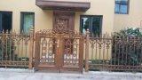 天津市铝艺门,别墅门,铝艺栏杆楼梯,法式铸铝门
