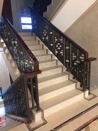 铝楼梯护栏 铝艺设计酒店楼梯平面图