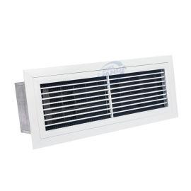 中央空调百叶窗净化除尘器单层百叶回风口空气净化器