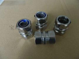 宝鸡福莱通DGJ自固式金属软管管接头制造商