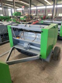 圣隆机械小麦秸秆打捆机,牵引式小麦秸秆打捆机