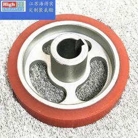 生产维修翻新-聚氨酯胶辊、轧辊、包胶轮,耐磨不脱胶