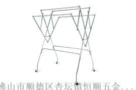 厂家直供折叠衣架 不锈钢免工具安装晾晒架