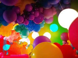 昆明花語花香氣球寶寶宴、氣球生日宴、氣球派對