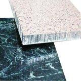 室內隔音鋁板 廠家直銷石紋木紋蜂窩鋁板 幕牆蜂窩板