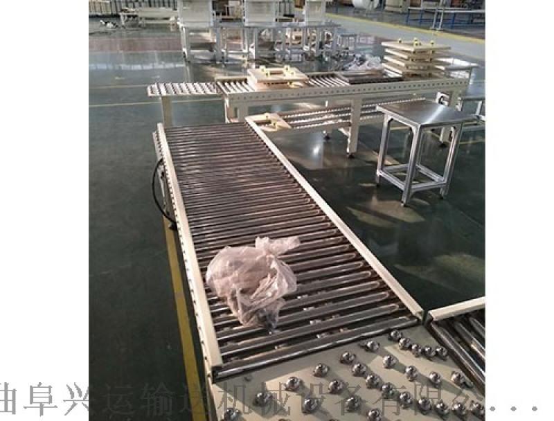無動力滾筒輸送機專業生產 傾斜輸送滾筒牡丹江