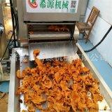 青岛全自动脂渣油炸机 压缩肉制品油炸加工设备