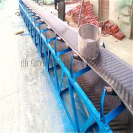 运粮用皮带式输送机 橡胶耐磨传送带厂家78