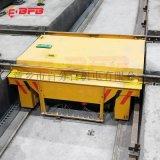 石油机械56吨低压电动台车 自动保护轨道平车
