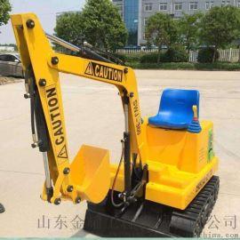 儿童乐园游乐设备电动挖掘机 儿童仿真挖掘机