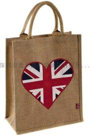手提購物廣告禮品麻布袋