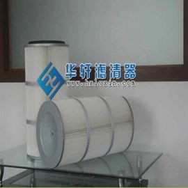 K3260 K3566聚酯纤维覆膜无纺布除尘滤芯 滤筒