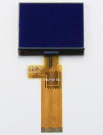 240160蓝底白字COG显示屏