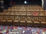最新电影院工程案例皮制电动vip影院沙发 影院座椅