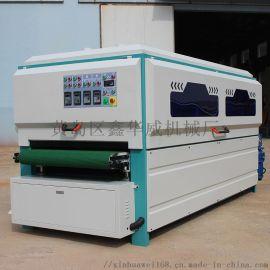 青岛鑫华威1000-4全自动异形打磨抛光机