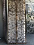佛山歐式別墅不鏽鋼屏風/鐳射鏤空不鏽鋼隔斷設計定制