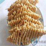 豆腐串油炸機 蘭花幹油炸設備 豆腐塊油炸線供應