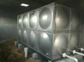 smc玻璃钢水箱 高层建筑消防水箱耐腐蚀性