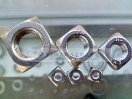 DIN557方螺母,GB39方螺母,不锈钢方帽