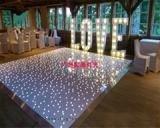 亚克力LED星空地板砖 婚庆酒吧跳舞地板砖