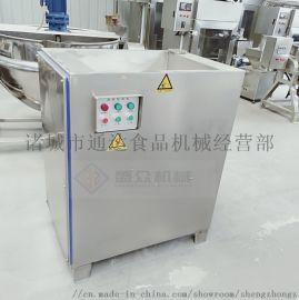 全自动冻肉绞肉机 商用大功率冻肉绞肉机