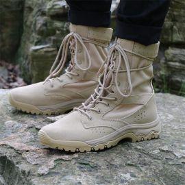 真皮高帮户外徒步越野登山鞋男女防水防滑轻便透气耐磨沙漠靴