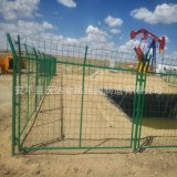 石油井护网 ***田站场围护栏 油井安全护网