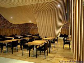 广州立广厂家定制弧形木纹铝方通弧形铝单板现货供应
