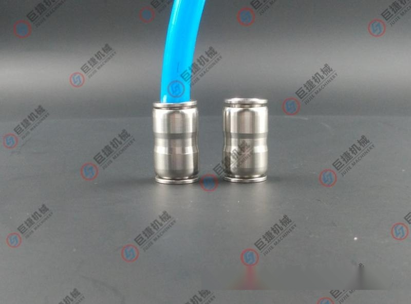 PU不锈钢软管接头 304不锈钢快插接头 316PU快插直通接头4-16mm