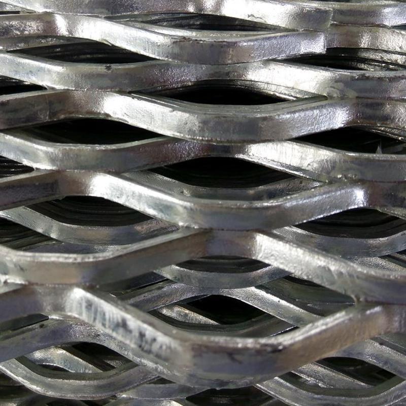 菱形网 幕墙钢板菱形网 钢板拉伸网