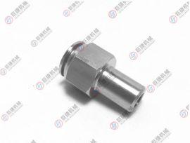 焊接快插接头 不锈钢快插气管接头 PVC管快插接头 304焊接快拧接