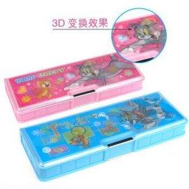 卡通PVC文具盒(TJ60167)